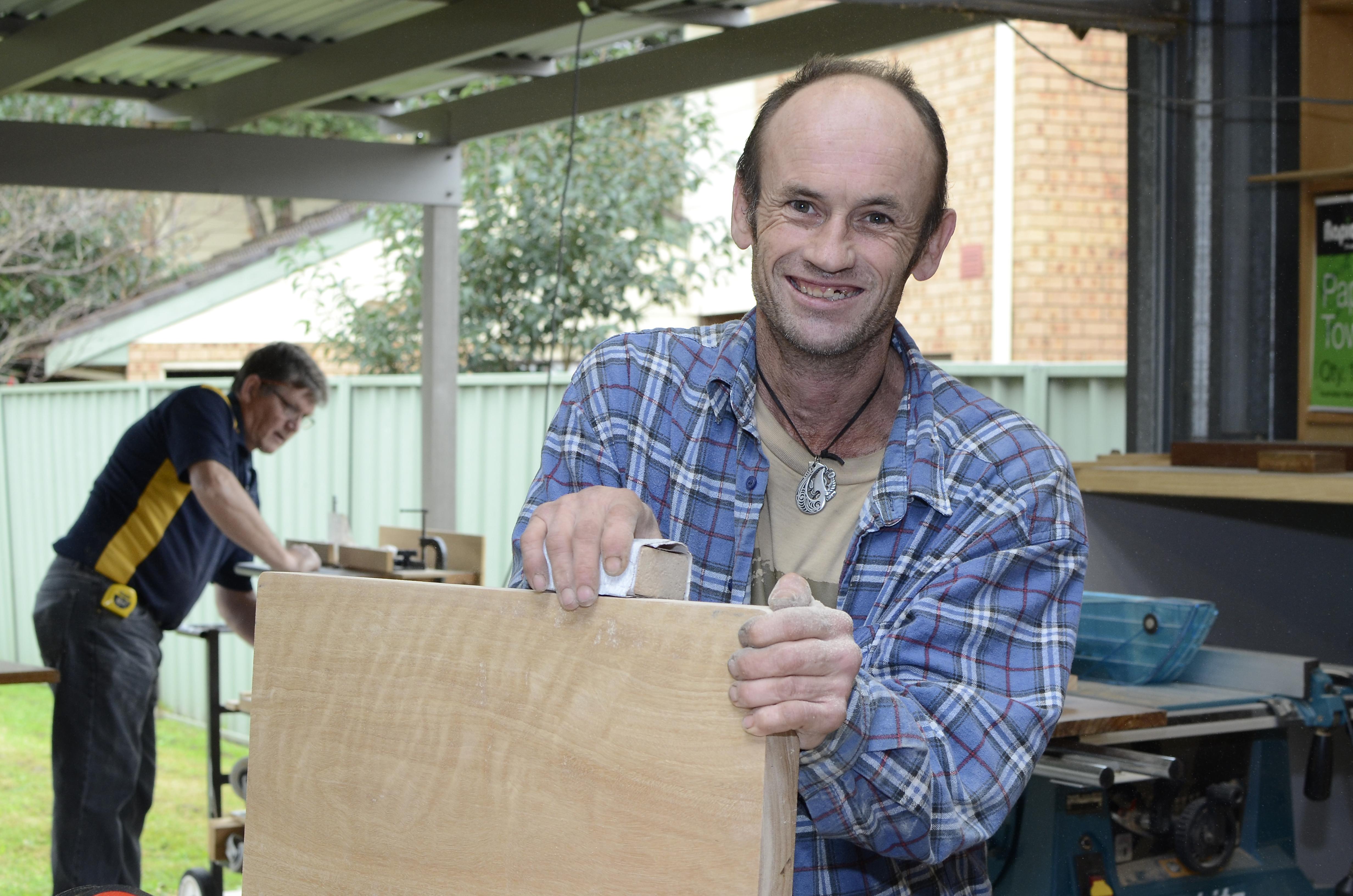 Brad - A Keen Woodworker