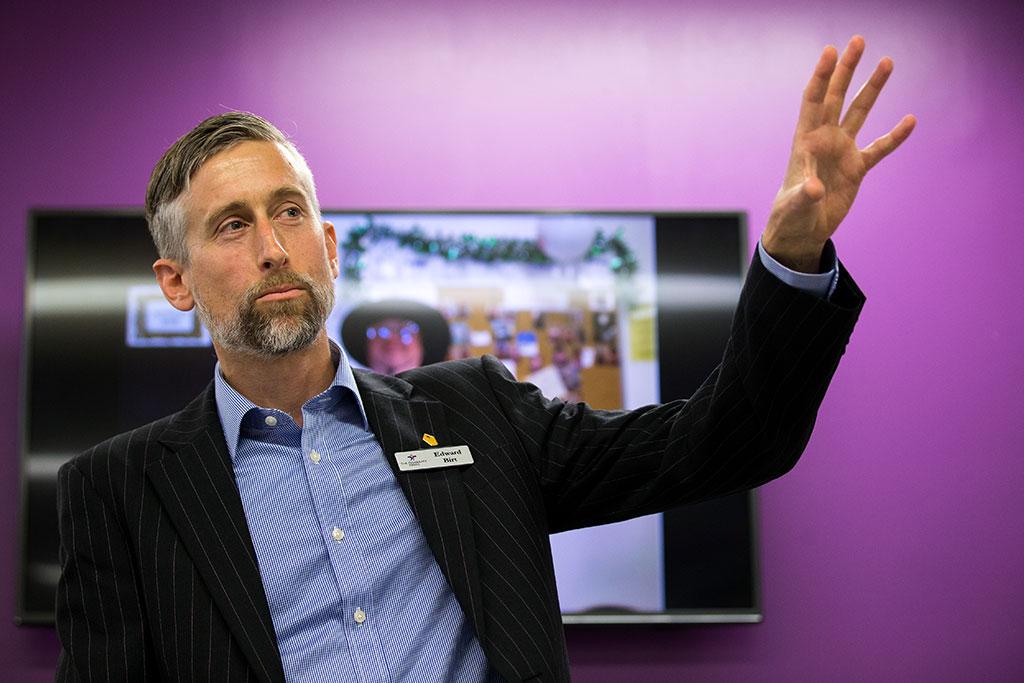 Edward Bird, Executive manager at the trust